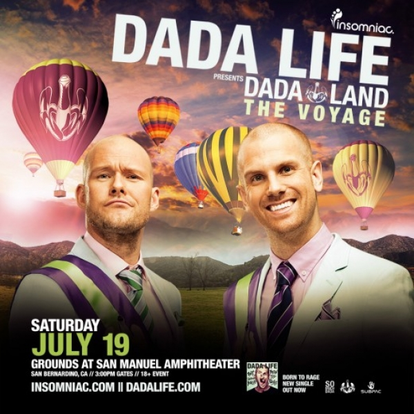 I'm Officially Becoming A Dada Land Citizen At Their Hot Air Balloon Party