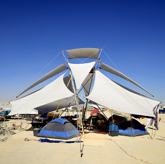 Can You Tell Me That Story Again About Your Burning Man Shade Structure, Please?